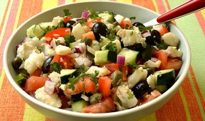 Salade de morue