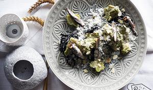 Pasta, brocoli, anchois
