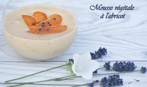 Mousse végétale à l'abricot