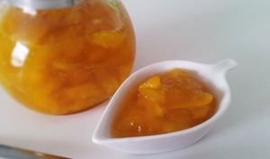 Confiture de mangue à la citronnelle
