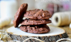 Cookies moka et chocolat