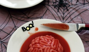 Cervelle ensanglantée