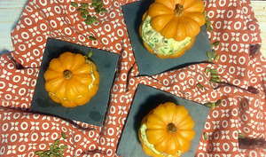 Mini courges farcies
