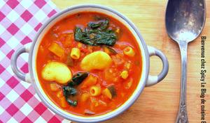 Soupe de légumes façon minestrone
