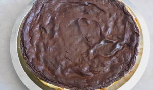 Flan pâtissier chocolat banane