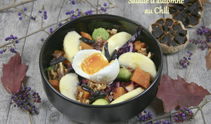 Salade d'automne au Chili