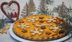 Pumpkin pie salée aux huiles essentielles