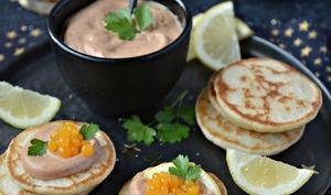 Tarama et caviar à l'orange