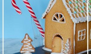Maison en gingerbread ou pain d'épices