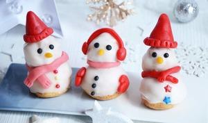 Religieuses bonhommes de neige pour Noël