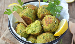 Falafels au chou kale