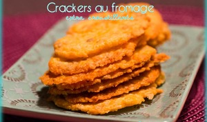 Crackers au fromage extra croustillants