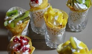 Crêpes tutti frutti pour la Chandeleur