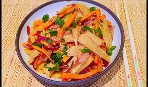 Légumes aux wok