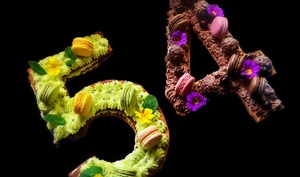 Number cake pour anniversaire branché