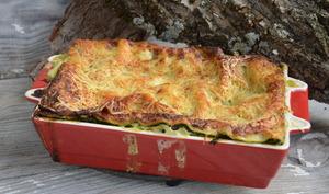 Lasagnes brousse épinards