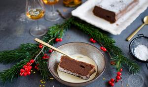 Fondant à la crème de marrons et chocolat noir