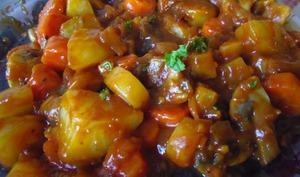 Irish stew vegan à la Guinness