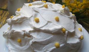 Dessert glacé au citron