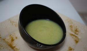 Soupe chou fleur, fenouil au colombo