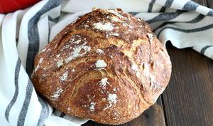 Pain cocotte à la farine complète