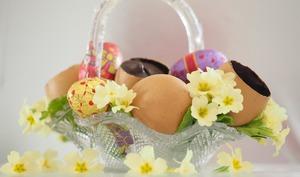 Oeuf en chocolat surprise de l'Ile de Bjarnarey
