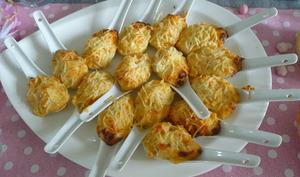 Cuillères apéritives surimi gratiné