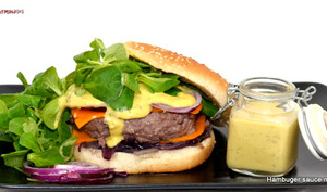 Hamburger sauce Moutarde