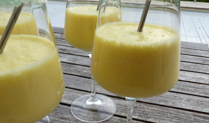 Piña Colada à l'ananas frais