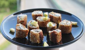 Roulés apéritifs façon pain perdu sucré-salé