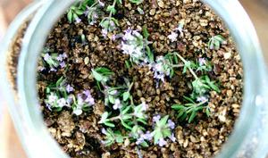 Gomasio aux fleurs de thym