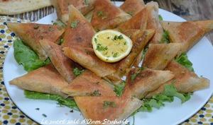 Brick marocaine à la viande hachée et fromage