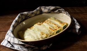 Cannelloni printaniers à la marjolaine