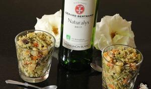 Taboulé menthe légumes