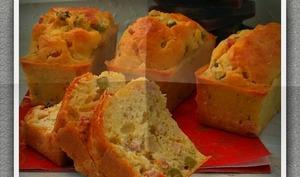 Cake macédoine jambon