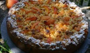 Gâteau Autrichien aux abricots frais à ma façon