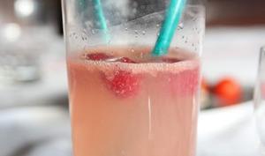 Cocktail rose poudré