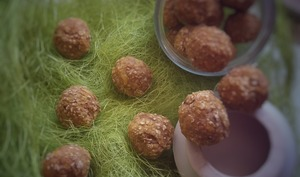 Energy Balls aux fibres de fruits