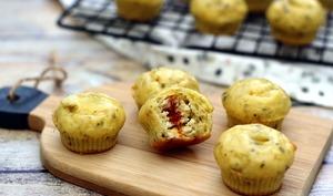Mini muffins coeur boursin