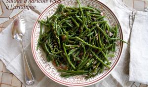 Salade de haricots verts façon asiatique