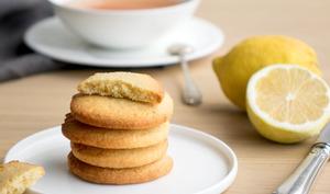 Sablés citron et amandes