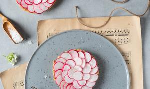 Tartelettes de radis