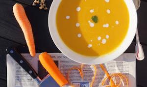 Velouté de carottes à l'anis