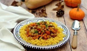 Tajine d'automne aux légumes rôtis