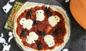 Pizza d'Halloween