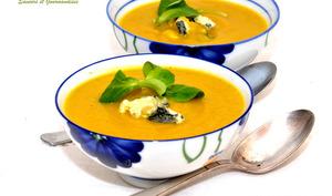 Soupe de légumes au St-Agur