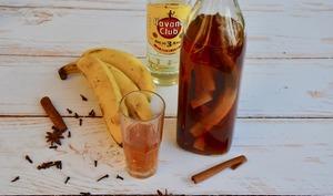 Rhum arrangé bananes et épices