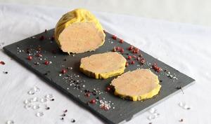 Foie gras maison à la vapeur