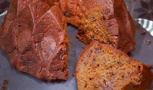 Gâteau au chocolat et la patate douce healthy
