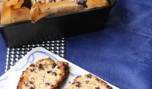 Cake-scone de Noël au massepain et chocolat noir